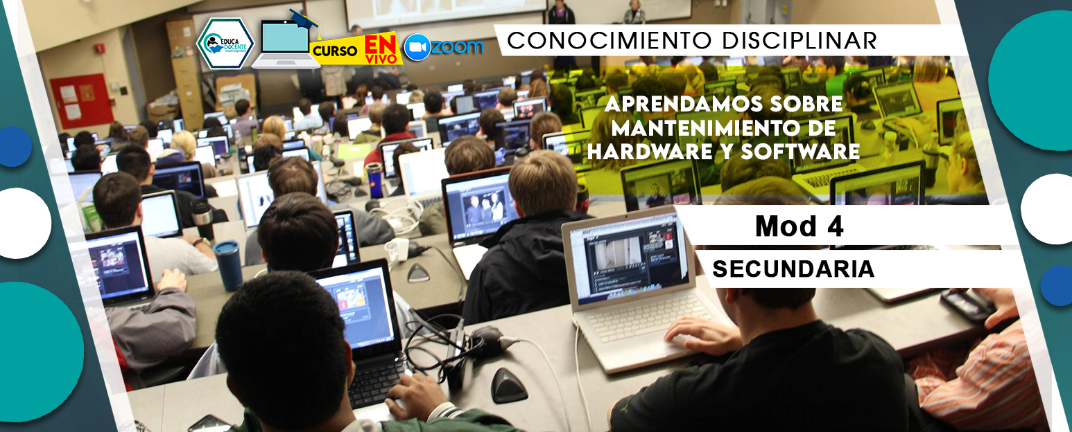 4 Aprendamos sobre mantenimiento de hardware y software